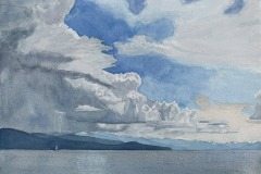 Lake Tahoe Afternoon Thunderstorm, Michael Kroes