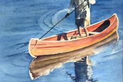 Cautious Canoer, Susan Davis