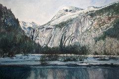 Winter Grandeur, Lucinda Johnson