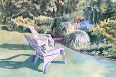 Backyard View, Susan Davis