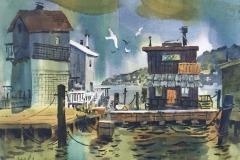 Sausalito Houseboats, Michael Friedland