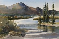 Mountain Scene, Cheri Guerrette