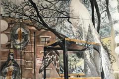 Inside Outside Filaments (Atlantic Avenue, Brooklyn), Meridith McNeal