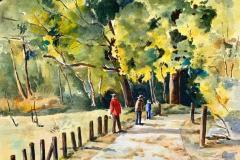 Autumn Trail, Diane Pargament