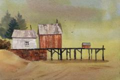 Foggy Day, Low Tide, Michael Friedland