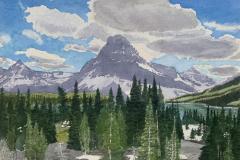 Two Medicine in Glacier, Michael Kroes
