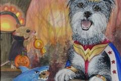 Lucinda Johnson – Wonder Dog Trick-or-Treat