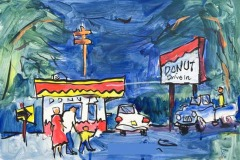 David Peterson – Donut Drive In