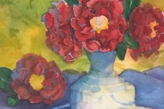 Camellias and Strawberries, Rose Sloan