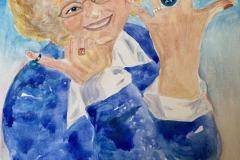 Self-Portrait, 3 Rings for my Birthday, Charlotte Richmond