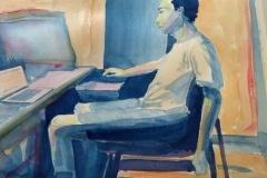 Self Portrait, Overnet, Alex Aruj