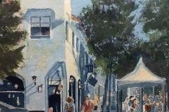 Carmel Art Festival, Rod Cullum
