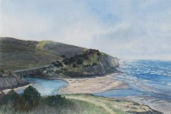 San Gregorio Barrier Beach and Estuary, Lucinda Johnson
