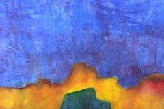 Abstract Sunrise, Nancy Riedell