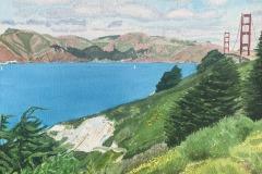 Golden Gate Bridge and Marin Headlands, Michael Kroes
