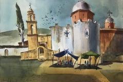 The Shrine of Atotonilco, Mexico, Michael Friedland