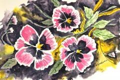 Spring Pansies, Brenda Slabbinck