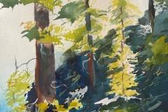 Mountain Side Pines, Sandra Mathiesen