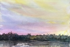 Yolo Bypass Reflections, Ruth Holton-Hudson