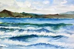 Waves at Doran Beach, Marleen Merchant