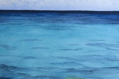 Caribbean Blue, Phyllis Orzalli