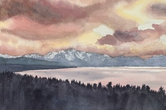 Tahoe Sunset, Mike Roes