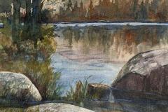 West Shore Wright's Lake, Lucinda Johnson