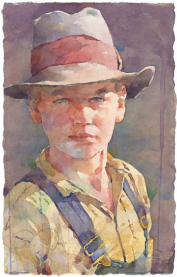 Painting Portraits from Photographs, a workshop with  Ted Nuttall
