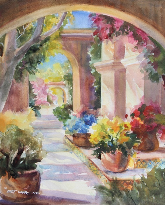 BETTY CARR WATERCOLOR WORKSHOP